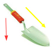 Garden Trowel - with z handle