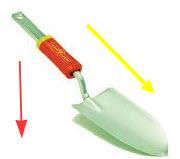 Garden Trowel - with z handle
