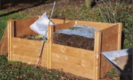 Modular Timber Compost Container