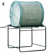 Drum Composters to compare relative size