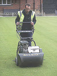 Mowing The Village Green
