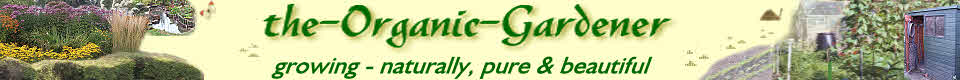 Logo for organic gardening at www.the-organic-gardener.com