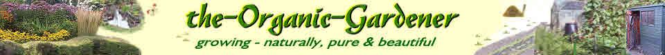 Logo for organic gardening on www.the-organic-gardener.com